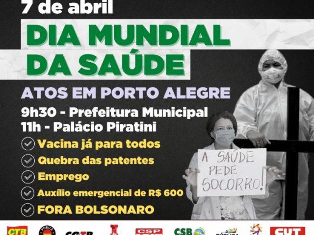 CUT-RS e centrais realizam manifestações por Dia Mundial da ...
