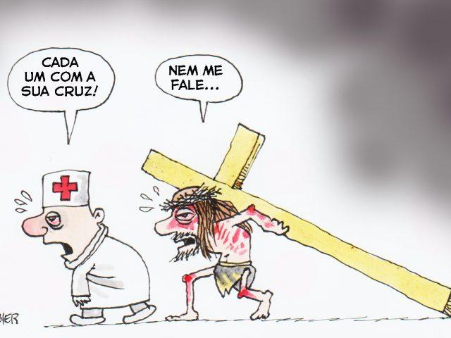A cruz de cada um
