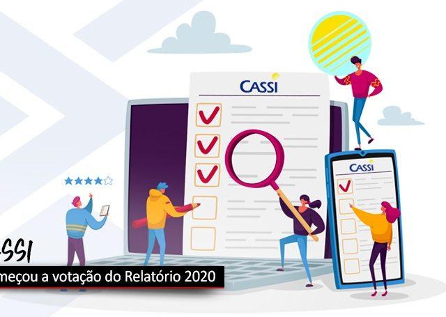 Votação do Relatório 2020 da Cassi começou segunda, 19/4