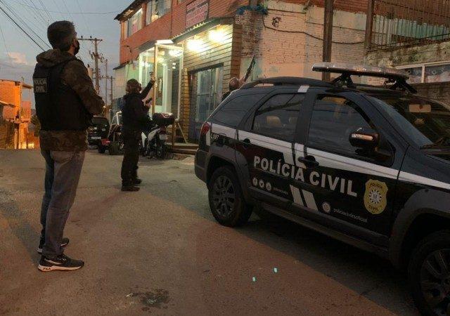 Operação Tatu: Polícia captura quadrilha especializada em ataques ...