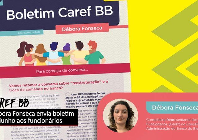 Débora, caref do BB, distribui segunda edição do ...