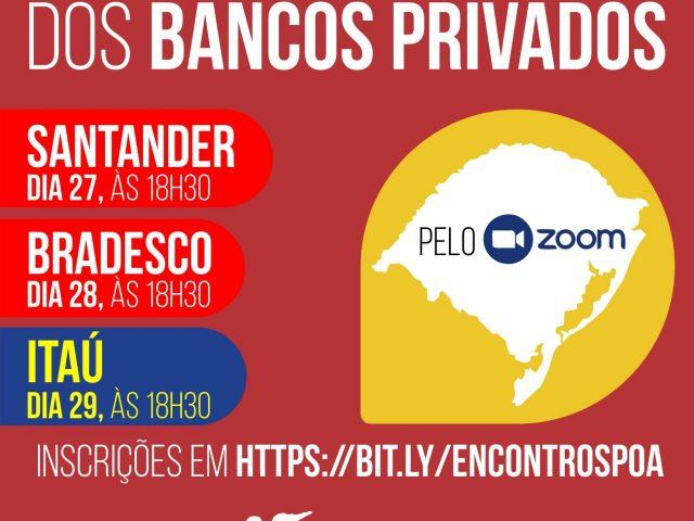 Inscreva-se nos Encontros Estaduais dos bancos privados!