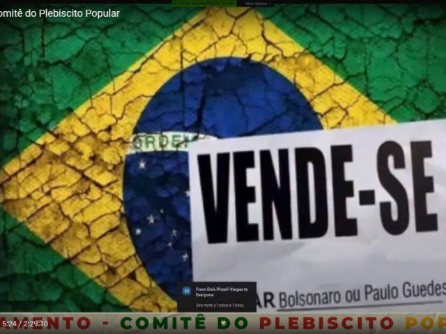 Movimentos sociais organizam Plebiscito Popular contra privatizações no RS