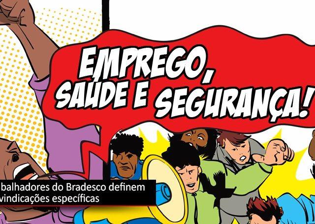 Bradesco: encontro nacional formaliza pauta de reivindicações específicas