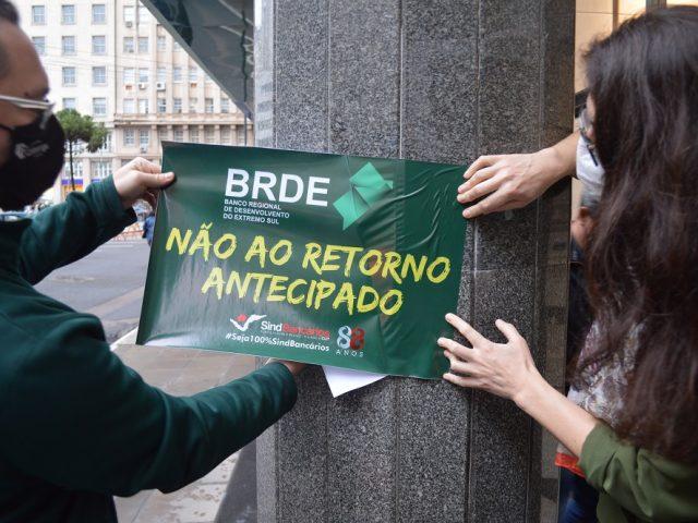 Ação sindical pede proposta de teletrabalho no BRDE