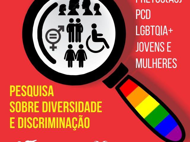 Participe da pesquisa de diversidade e discriminação